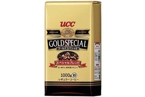 4位.UCCゴールドスペシャル|スペシャルブレンドコーヒー豆(粉)